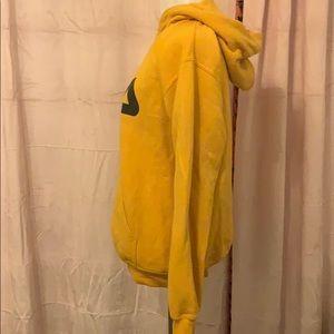 Fila Tops - Yellow Fila Hoodie